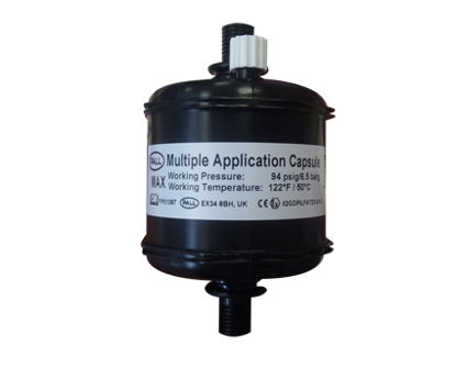 Picture of JFX500-2131 Capsule Filter Black 10 micron Luer - MACCA1007